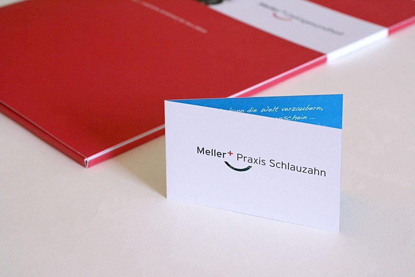 Geschäftsausstattung, Mappe, Präsentationsmappe, Visitenkarte mit Laserstanzung